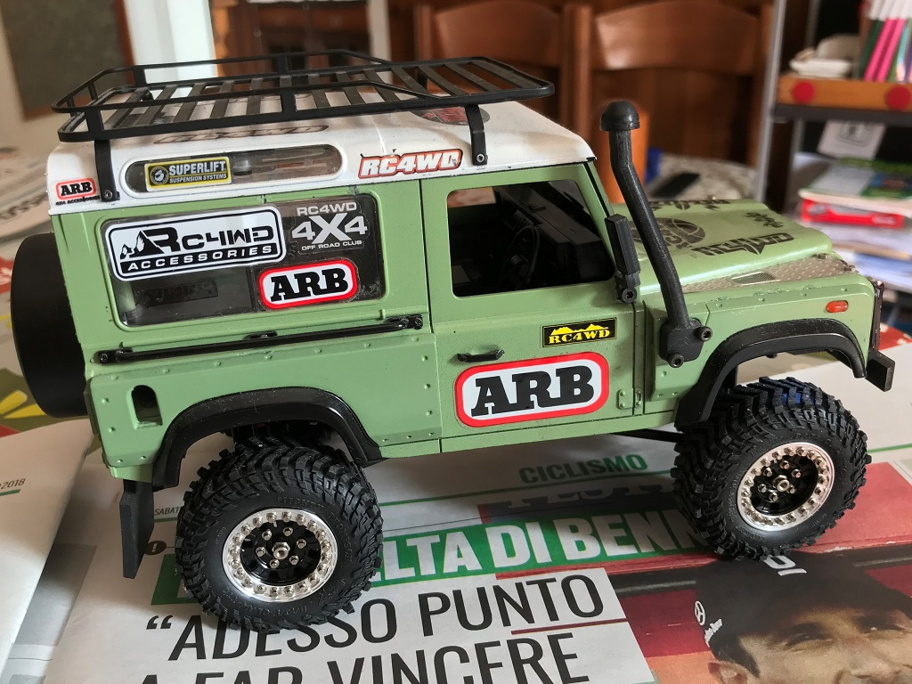 1-18 RC4WD defender custom by Stefano